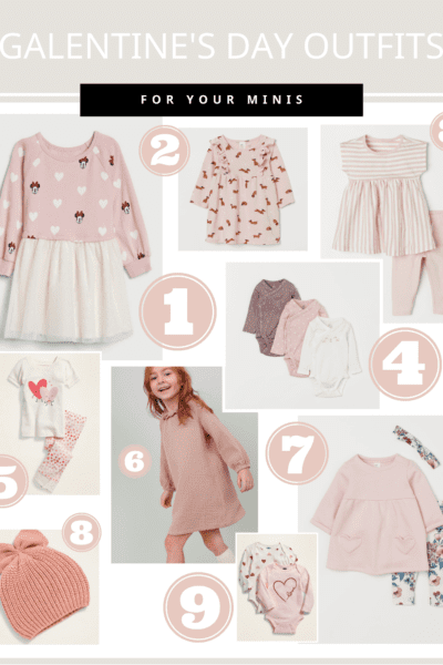 Little Girl Galentines Day Outfits