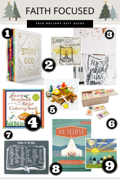 Faith Focused Holiday Gift Guide For Kids