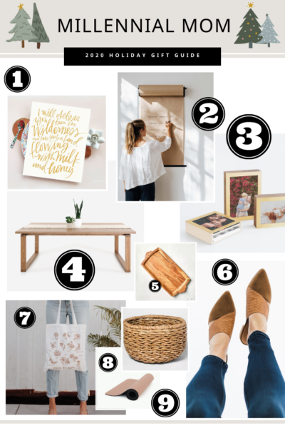 Millennial Mom Holiday Gift Guide
