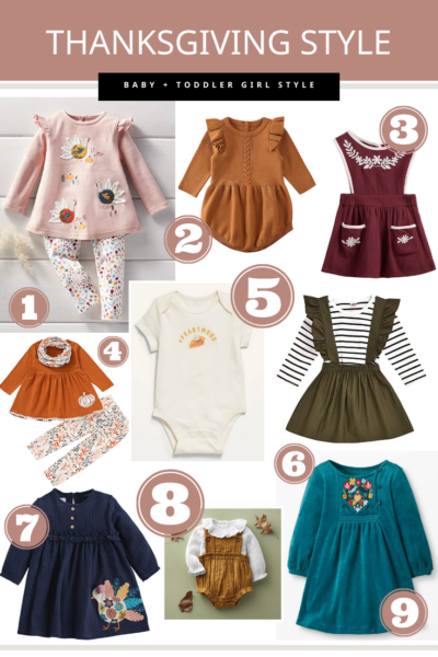 Thanksgiving Style for Baby + Toddler Girl