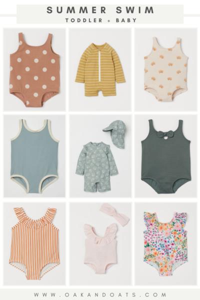 Summer Swim for Toddler + Baby